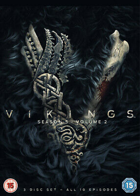 Vikings: Season 5 - Volume 2 DVD (2019) Katheryn Winnick cert 15 3 discs