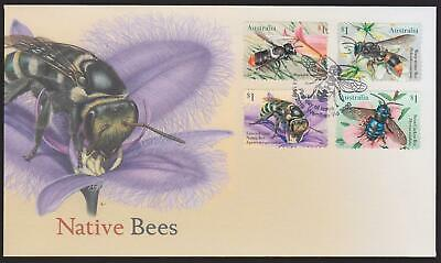 Australia First Day Cover FDC - 2019 Native Bees (Peel & Stick) (Unissued)