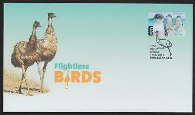 Australia First Day Cover FDC - 2019 Flightless Birds (Peel & Stick) (Unissued)