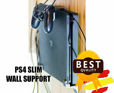Soporte de pared Play Station 4 Silm   PS4 Slim Wall Mount   3D Printed