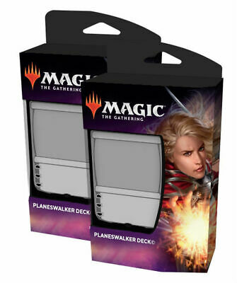 MTG Magic The Gathering Throne of Eldraine Planeswalker Deck set of 2