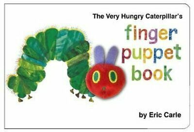 The Very Hungry Caterpillar Finger Puppet Book 123 Counting Book 9780141329949