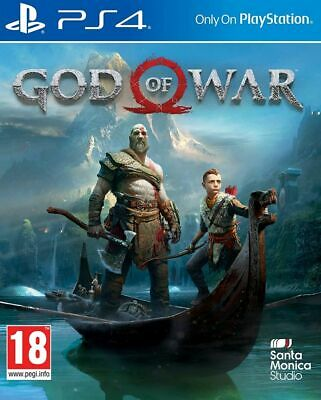 God Of War PS4 * NEW SEALED PAL *