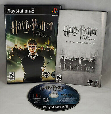 Harry Potter and the Order of the Phoenix (Sony PlayStation 2, 2007) Complete