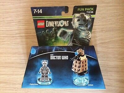 Lego Dimensions Doctor Who Fun Pack (Dalek) (71238) (7-14) (3 In 1)(New)(Sealed)