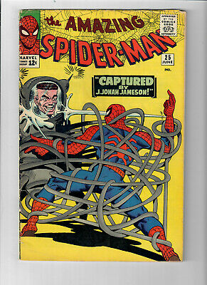 AMAZING SPIDER-MAN #25 - Grade 5.0 - First appearance of Mary Jane! (Cameo)