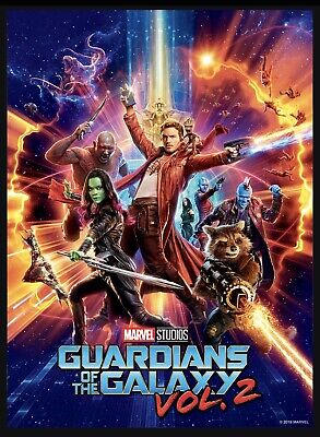 Marvel Collect Topps Digital card First 10 Years Poster Guardians Galaxy Vol 2