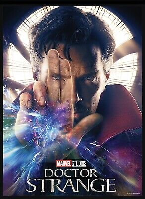 Marvel Collect Topps Digital card First 10 Years Movie 🎥 Poster Doctor Strange