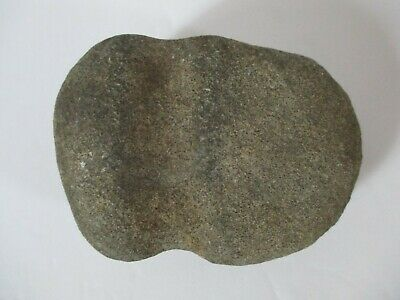 Native American Indian Stone Grooved Axe Head Artifact