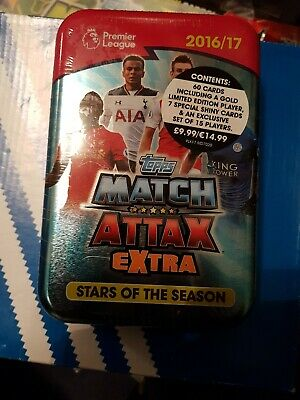 Match Attax Extra 2016/17  Large Tin  with limited edtion