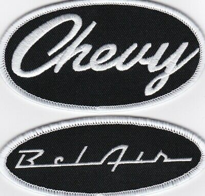 CHEVY NOVA SEW//IRON ON PATCH EMBROIDERED BADGE EMBLEM 350 396 454