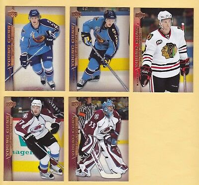 2007-08 Upper Deck Young Guns Rookies  - U-Pick To Complete Your Set