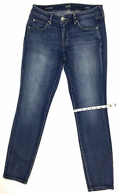 NEW Miss Me Women/'s MP7651S2 Too Cool Blue Mid-Rise Skinny Jeans Size 26