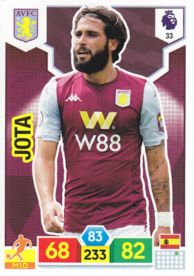 Panini Adrenalyn XL - Premier League 2019-20 - Jota - Aston Villa - # 33
