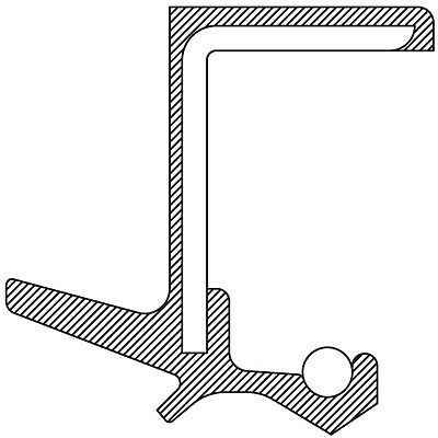 Transfer Case Extension Housing Seal-AWD National 711072