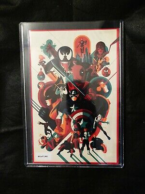 NYCC 2019 MARVEL COMICS 1001 MONDO EXCLUSIVE VARIANT Limited to 1001