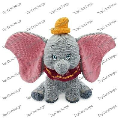 DISNEY Parks Plush COZY KNITS Collection DUMBO the ELEPHANT Limited NWT