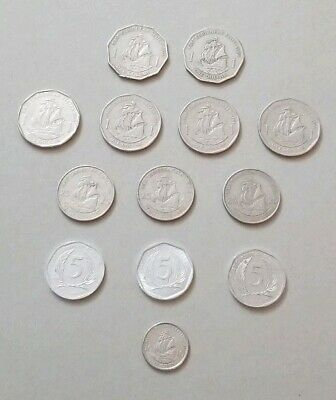 VINTAGE - Lot Of East Caribbean Coins