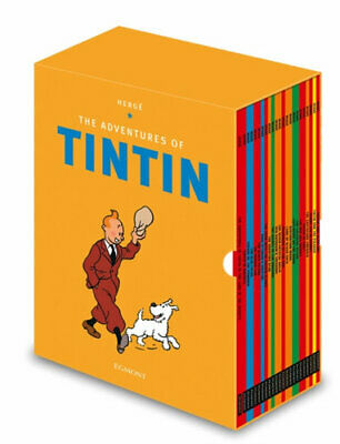 NEW The Adventures of Tintin Boxset By Herge Multi-Copy Pack Free Shipping