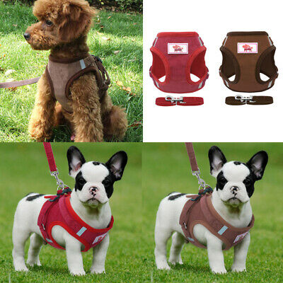 Non-Pull Dog Vest Harness Adjustable Pet Puppy Walking Strap Vest Chest Belt UK