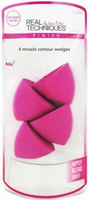 Hot Original Real Techniques Miracle Contour Sponge 4 Pack Free Delivery UK