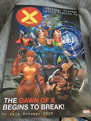 NYCC 2019 Marvel Dawn Of X #1 Exclusive Promo Poster House Of X Powers Of X