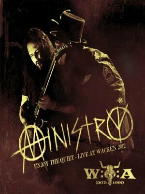 Ministry - Enjoy the Quiet: Live At Wacken 2012 [DVD] [201... - Ministry CD 94VG