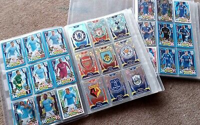 Topps Match Attax EPL UCL Premier & Champions League Bundle 2017-18 3x Binders