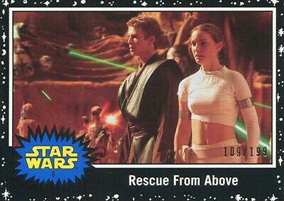 Topps Star Wars Journey To Rise Of Skywalker Black Parallel Base Card - You Pick