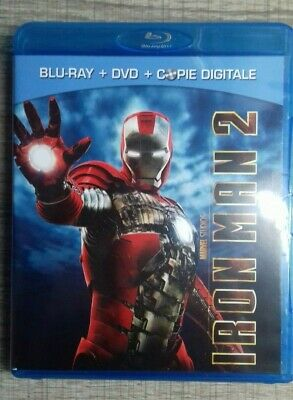 Blu Ray Iron Man 2  Edition 2 Disques