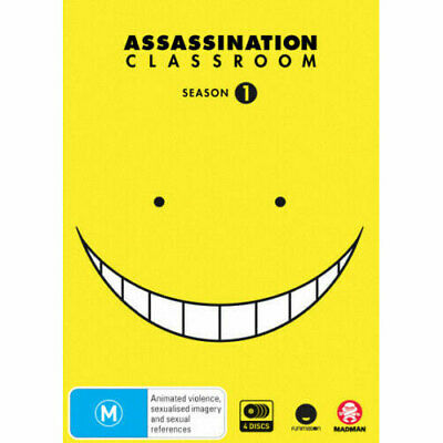 Assassination Classroom: Season 1 DVD NEW (Region 4 Australia)
