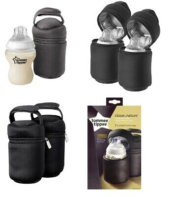 Tommee Tippee Closer To Nature Insulated Baby Feeding Bottle Bag