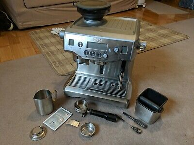 Sage The Oracle Espresso Coffee Maker Machine Automatic 15 Bar BES980UK Silver *