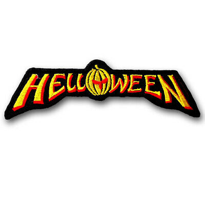 Helloween Patch Embroidered Power Metal Band Applique Emblem Rock Biker Rider #3