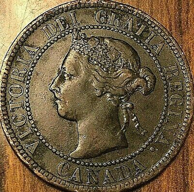 1899 Canada Large Cent Penny 1 Cent