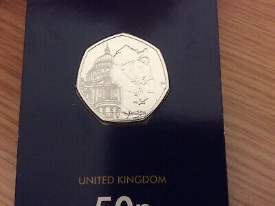 50p Coin 2019 Paddington Bear At St Pauls Cathedral BUNC FREEPOST