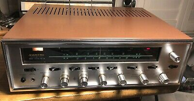 Sansui 1000A tube receiver beautiful condition, serviced, fantastic sounding.