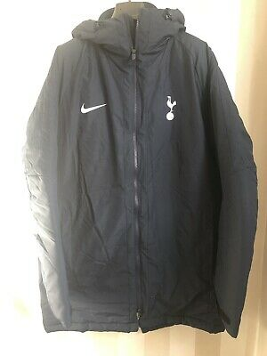 Nike Tottenham Hotspur Spurs Quilted Bench Coat Jacket Size XL - Xtra Large BNWT