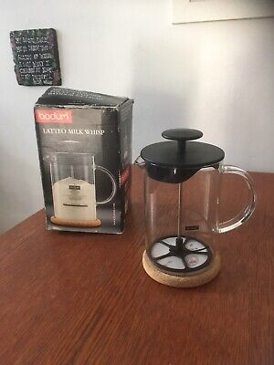 Bodum - Latteo Milk Whisp - Borosilicate Glass - Black/ Transparent