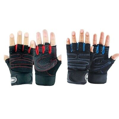 Best Weight Lifting Gloves Gym Fitness Bodybuilding Workout Training Strap Seja
