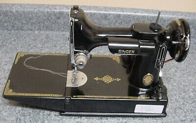 Vintage Singer FeatherWeight 221 Sewing Machine Case Keys PROFESSIONALLY SERVICE