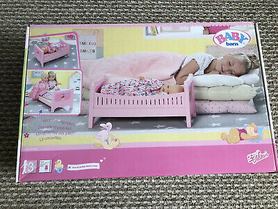 Baby Born Bed *Furniture *Crib*cot* Baby Annabell