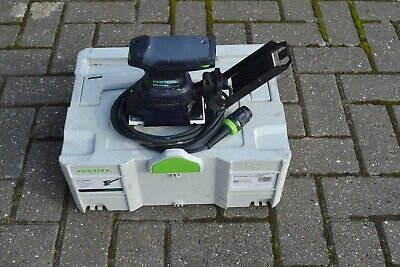 Festool RTS 400 REQ-Plus 240v Orbital Sander in SYSTAINER ,New pad just fitted