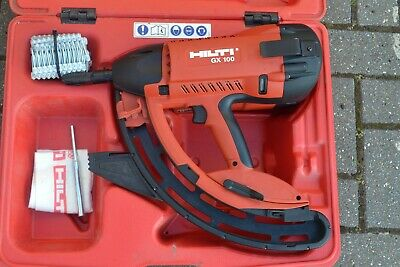 Hilti GX 100 Fully Automatic Gas-Actuated Fastening Tool(pristine condition)