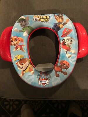 Fabulous Paw Patrol Soft Potty Seat Kid Toddler Toilet Training Seat Ncnpc Chair Design For Home Ncnpcorg