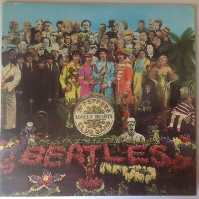 The Beatles-Vinyl Record- LP - Sgt Pepper's Lonely Hearts Club Band - UK press
