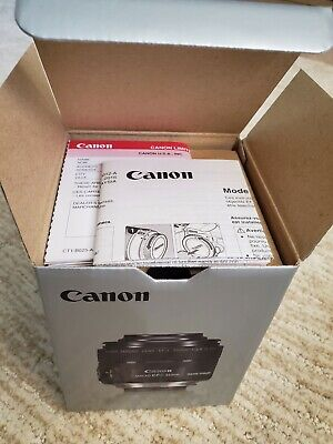 Open Box Canon EFS 35mm f/2.8 Macro IS STM Lens with ES-27 Hood + Free Shipping!