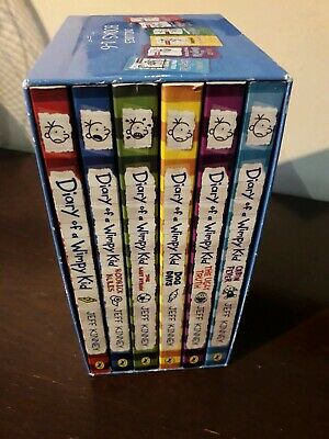 Bundle of Diary of a Wimpy Kid Bookset (6 books) Jeff Kinney
