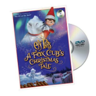 NEW 2019 Elf On The Shelf Elf Pets: A Fox Cub's Christmas Tale DVD EPFOXDVD12P