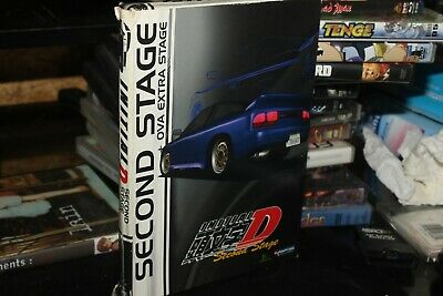 INITIAL D - Second Stage + OVA - ANIME - (DVD, 2011, 3-Disc Set)